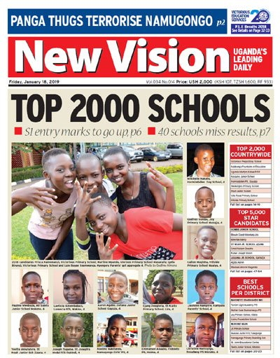 New Vision UGANDA's photo on Hello Friday