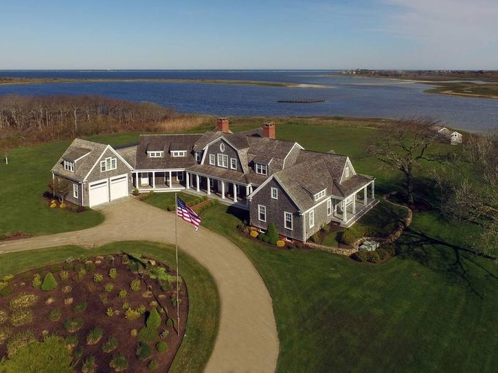 63 Acres 10266 Square Foot Home 9 Bedrooms 95 Bathrooms Boathouse Guest Cottage Tennis Court 260 Polpis Rd On Nantucket Was The Most Expensive