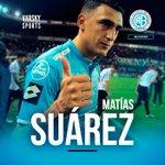 Matías Suarez Twitter Photo