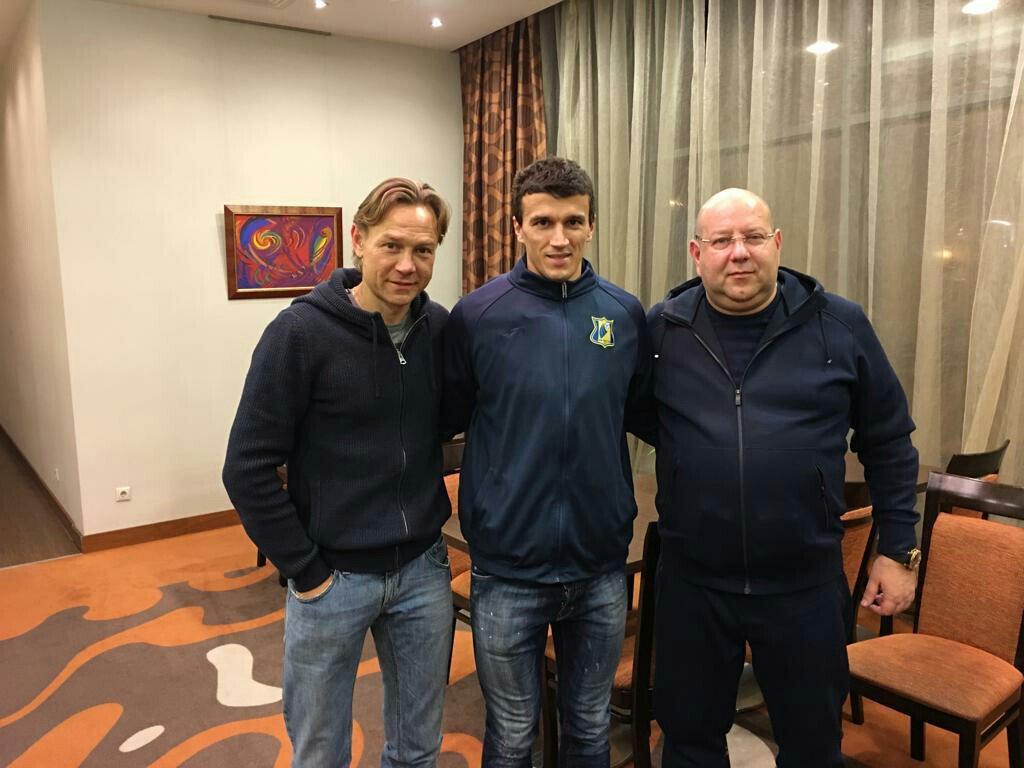 Валерий Карпин, Роман Еременко и Арташес Арутюнянц