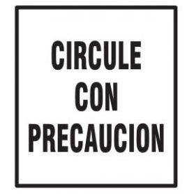 #SantaRosa   Solicitan circular con precacución