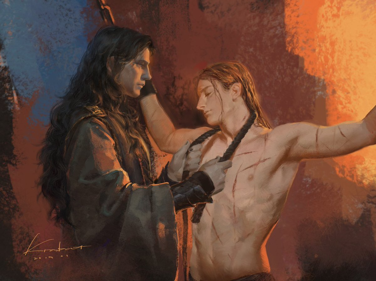 'There was a dark shadow and I fell in love with sin' #Melkor #Mairon OOC!!!