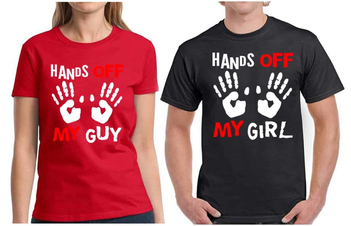 be5806bc Looking for a perfect matching couple T-shirts for Valentine's day? Then go  for it #WearBiko™ These T-shirts make your Valentine's Day even more  special!