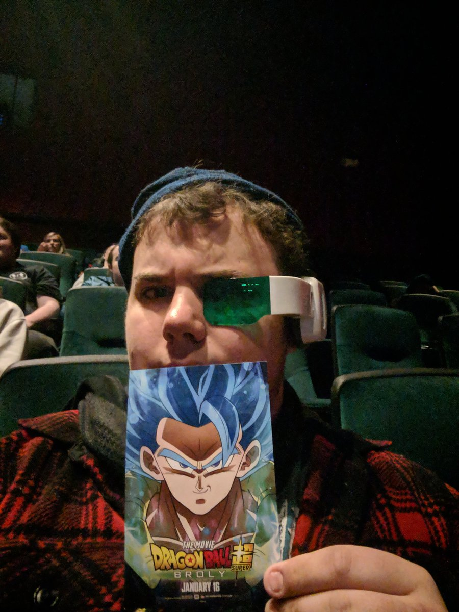 About to see #DragonBallSuperBroly