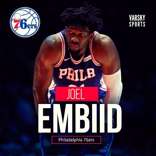 #NBA Philadelphia 120 (Embiid 22 pts, 13 reb, 8 ast, 3 tap) - Indiana 96 Phoenix 109 - Toronto 111 (Lowry 16 pts, 9 reb, 8 ast) Knicks 100 - Washington 101 (Beal 26 pts, 9 reb) Sacramento 95 - Charlotte 114 (Walker 23 pts) Photo