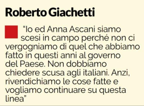 Perché votare Giachetti-Ascani: appello ai delusi del Pd attuale.Vale la pena impegnarsi. Al lavoro e alla lotta.