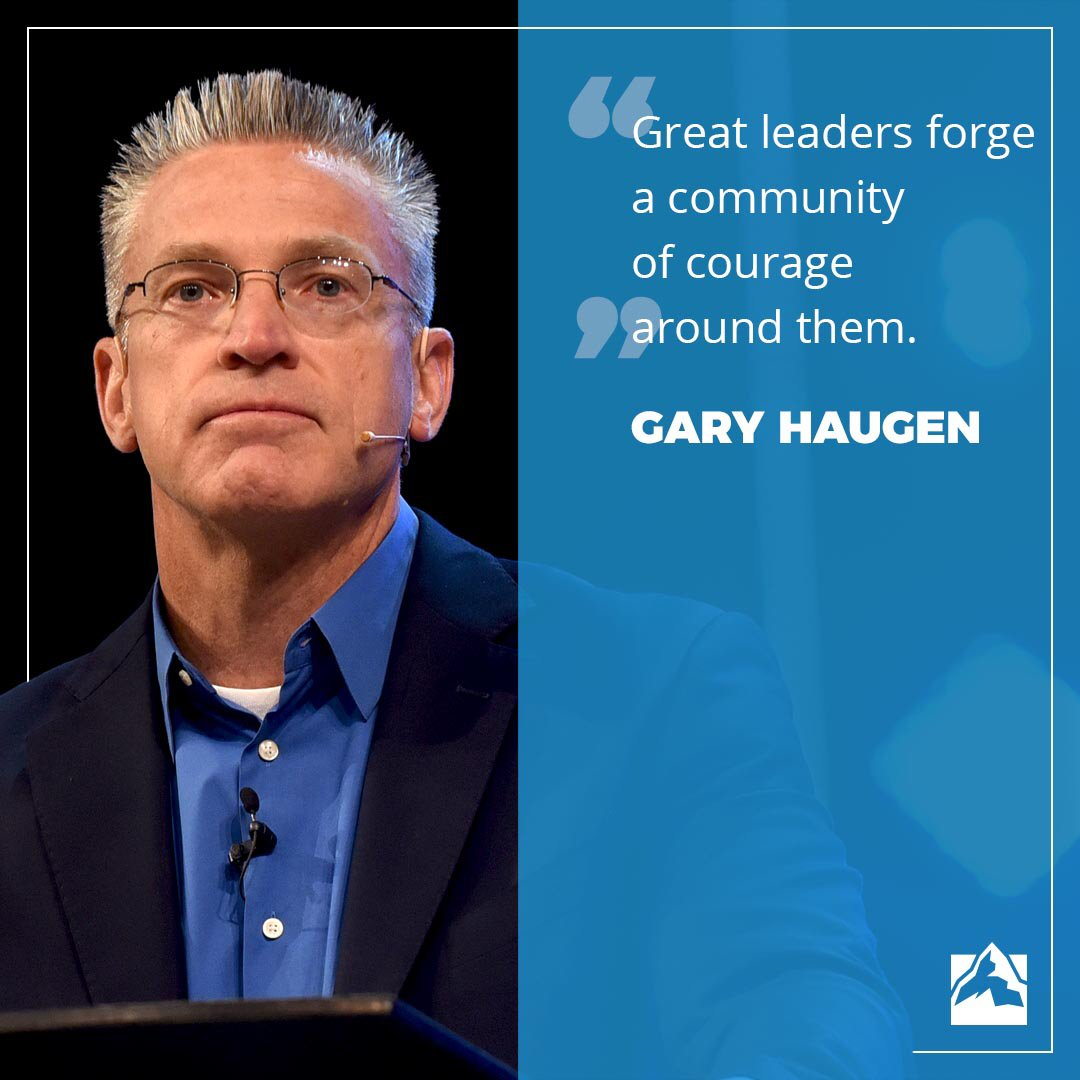 COURAGE Clarity of purposeimproves efficiency, effectiveness and innovation toward new ways of achieving a common goal. Have a clear end goal and open up the gates of innovative ways to get there.  #leadership101 #strategy #vision @garyhaugen #GLS18 #globalleadershipsummit<br>http://pic.twitter.com/oqIKDgH5Rj