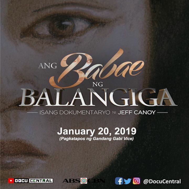 She taught me love She taught me patience She taught me pain  Her story is amazing #AngBabaeNgBalangiga