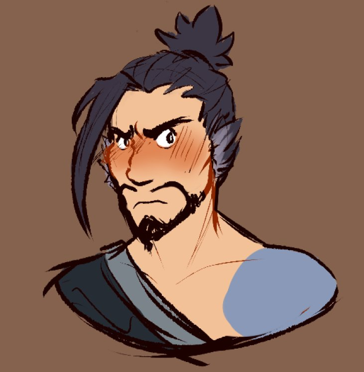 he's not in love he swears [#hanzo #overwatch]
