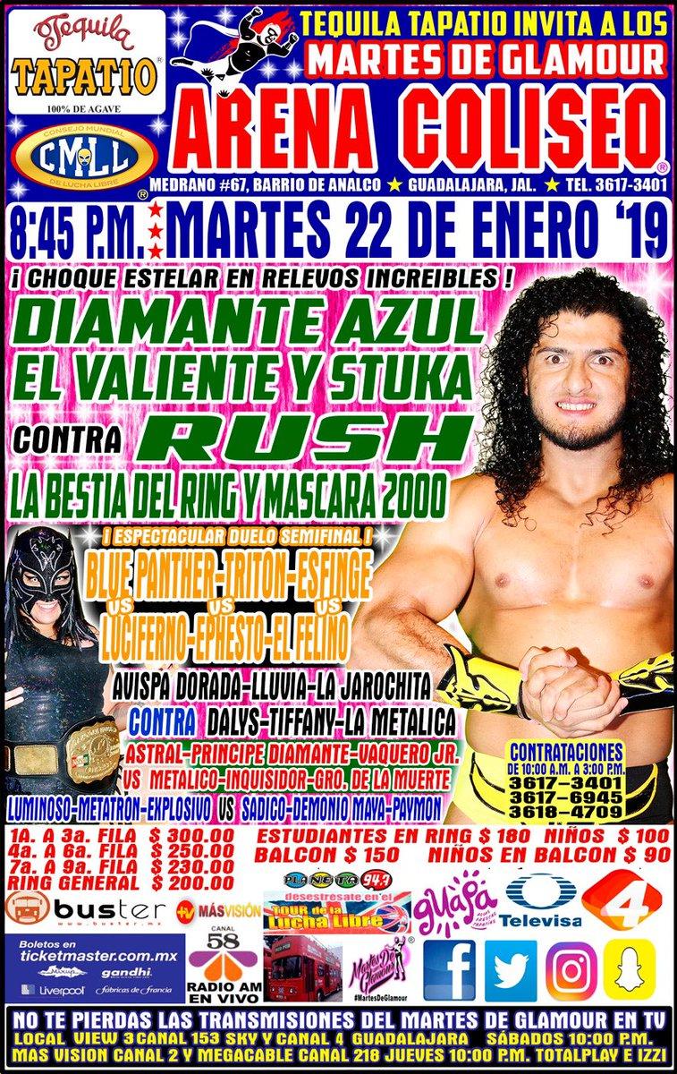 CMLL: Una mirada semanal al CMLL (Del 10 al 16 de enero de 2019) 27