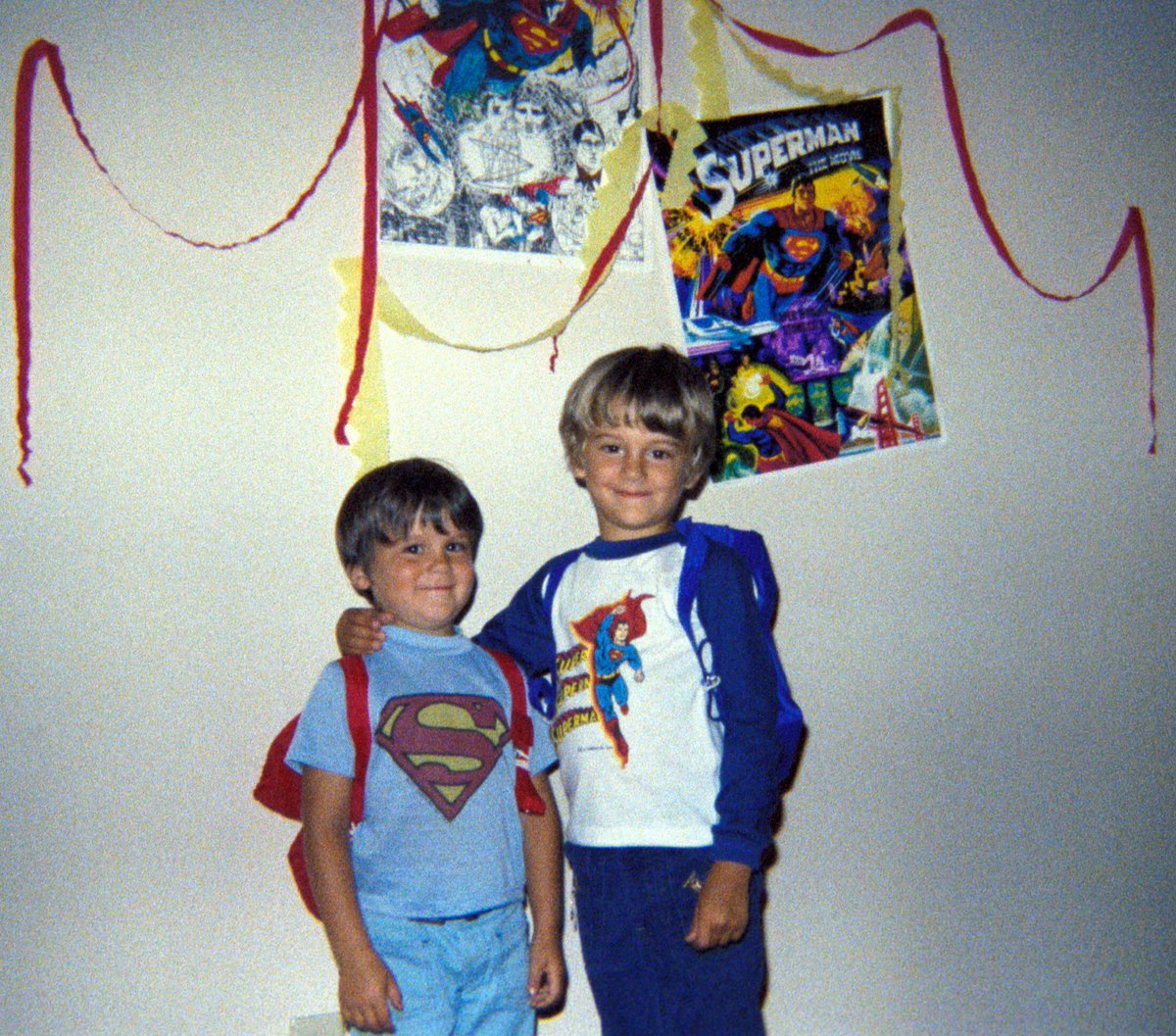My brother and I were big Batman fans growing up. #tbt