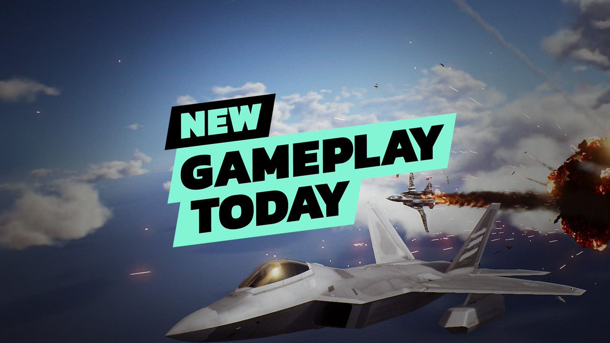 On tonight's New Gameplay Today we talk through the long-awaited Ace Combat 7: Skies Unknown and play one of the game's VR missions.  https://t.co/xzh5sBAARU