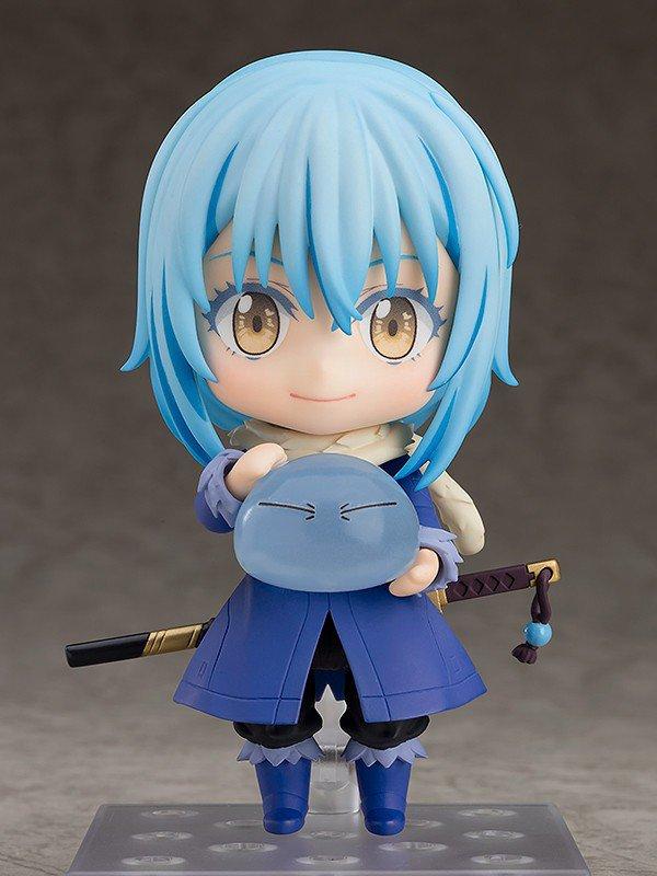 "Directamente de la popular serie de anime ""Tensei shitara Slime Datta Ken"", Good Smile Company presenta la Nendoroid que le dedica a Rimuru Tempest.  Más información: http://bit.ly/2HjDUaM  #TenseiShitaraSlimeDattaKen #RimuruTempest #Nendoroid #goodsmile"