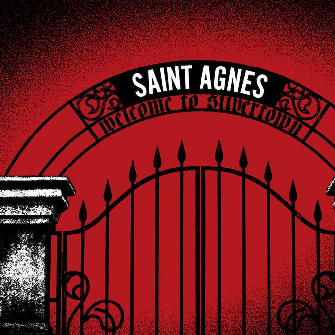🌵 @wearesaintagnes released their new single 'Welcome To Silvertown', the title track from their debut album, out May 3rd. Listen here 🌵💘 #NewMusicFriday Photo