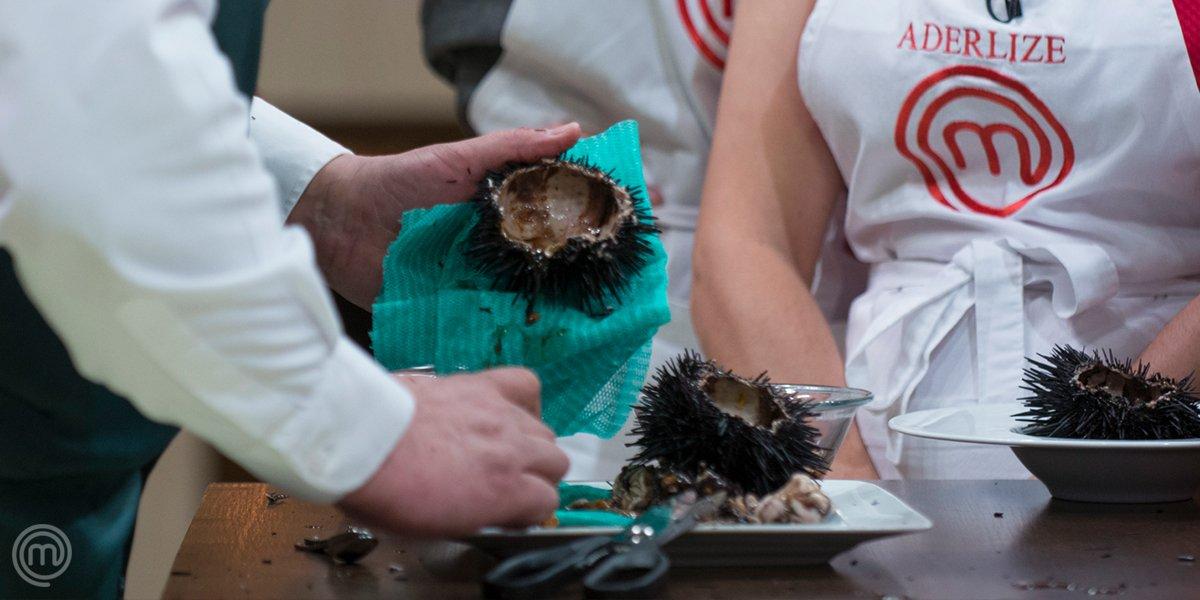 #QuizzMasterChefBR: na 4ª temporada do #MasterChefBR, os participantes precisaram preparar um OURIÇO no capricho! 😱 Você se lembra qual gafe Mirian cometeu a servir o seu prato? 🤔