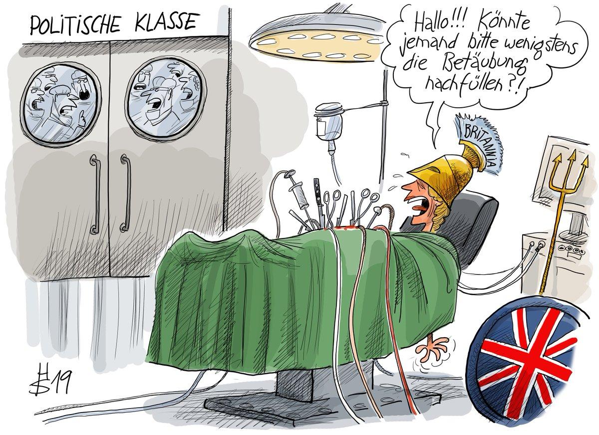 Die Karikatur des Tages: Ein kleiner Gefallen. #Brexit https://t.co/ngGtUCYOSb