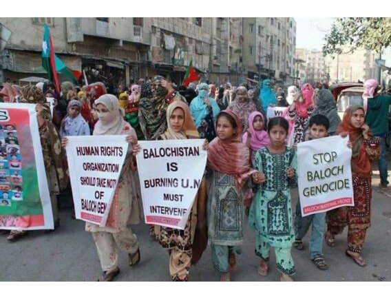 Movements to end Punjabi colonisation of Baloch, Pashtun, Sindhi, Kashmiri &amp; Gilgit-Baltistani lands are gaining momentum. How can the UN reconcile gross human rights violations across Pakistan with its seat on the UN Human Rights Council for the term 2018-20? @UN_PGA<br>http://pic.twitter.com/ZiyEQHQB73