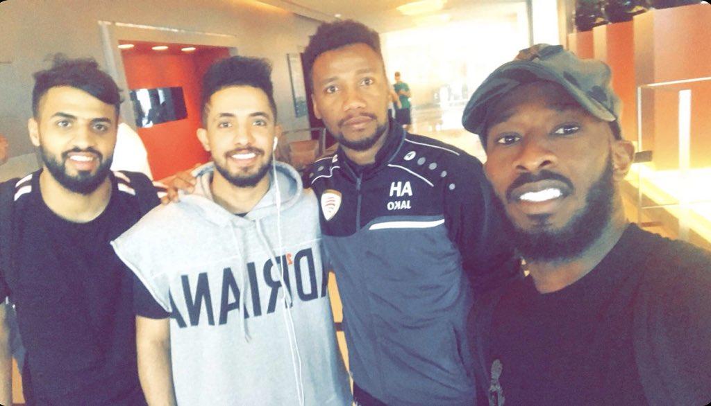 RT @IttiMania1: فهد المولد رِفقة لاعب #الاتحاد سابقًا احمد حديد😍🏅. https://t.co/TMbM7K2L68