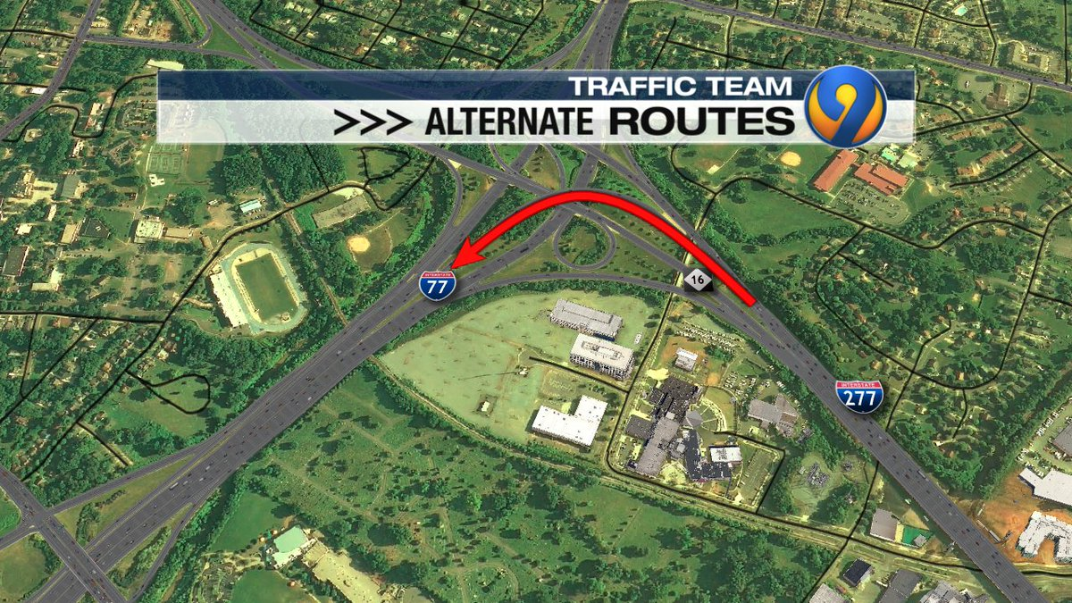 UPDATE: OL Brookshire ramp to I-77 SB has been CLOSED since the end of Sept. for toll lane construction.  NCDOT tells me me that that ramp is scheduled to reopen by the week of the 28th - weather permitting.  #cltraffic #clttraffic #clt<br>http://pic.twitter.com/Uv1yzccOP5