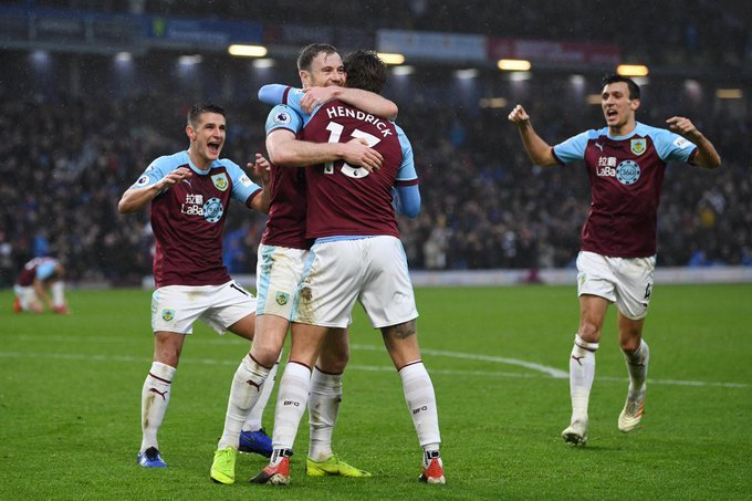 PREMIER LEAGUE #NEWS : After a successful appeal by Burnley, their first goal against Fulham has now been credited to Jeff Hendrick.  The goal was originally listed as a Joe Bryan own goal  #BURFUL pic.twitter.com/Pso7mb2flI #PL #football #UK pic.twitter.com/7odqW1HUPq