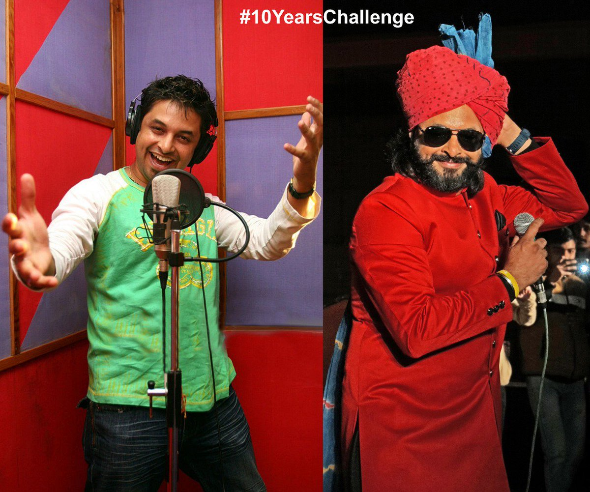 Everything changes but the musical soul remains the same.#10YearChallenge