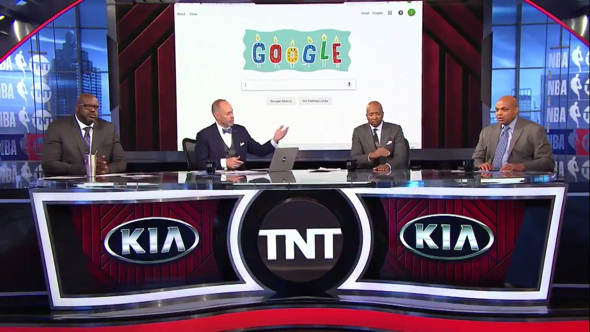 Ernie demonstrates how you can cast your #NBAAllStar votes using @Google!   Keep voting at http://bit.ly/2RUVMNd 🗳