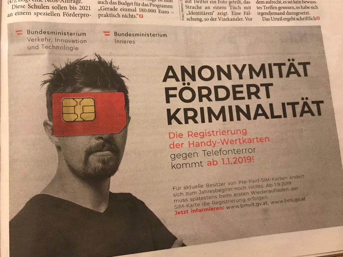 Anonyme Sim Karte.Markus Sulzbacher On Twitter In österreich Werden Zwischen 3 Bis 4
