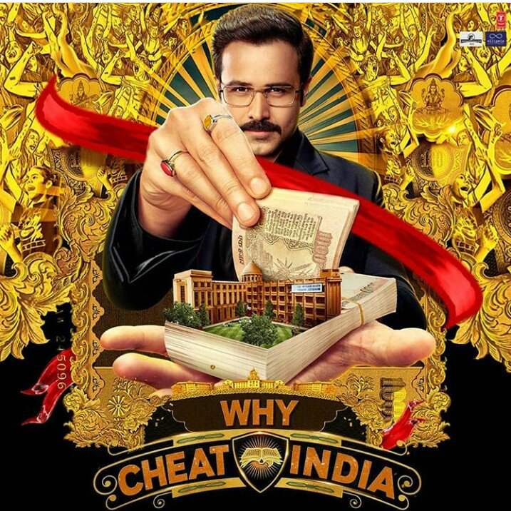 #WhyCheatIndiaReview  Story is Nice Screenplay is lit bit slow, This is Satire drama #EmraanHashmi is Outstanding, #ShreyaDhanwanthary is nice , Direction is good, Music Is very nice  Overall Unique Drama satire  Rating-*/5* #WhyCheatIndia #EmraanHashmi #review #FolloMe <br>http://pic.twitter.com/YsO3E41MZb