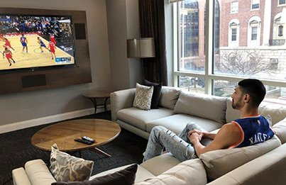 1/18/19 Enes Kanter watches Knicks lose in London from home due to fears of capture, John Gibson shutout helps Ducks end slump, Brian Gionta is 40, When the Eagles lost third straight championship game Photo