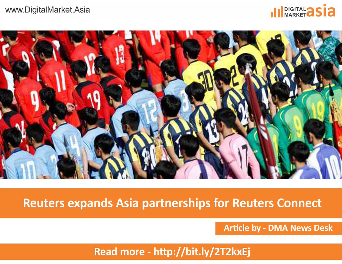 .@Reuters expands Asia partnerships for Reuters Connect http://bit.ly/2T2kxEj  @StarNewsOnline @BBC @usatodaysports @accuweather @Variety  @Newsflare @redbull @hollywoodtv