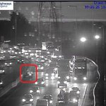 Image for the Tweet beginning: Lane closed on the #M25