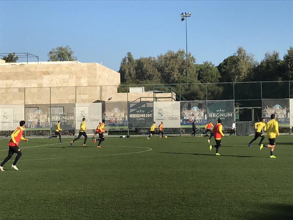 Mit einem internen Spiel wird das Trainingslager in Belek abgeschlossen.  #bscyb https://t.co/sfFzI4j7sA