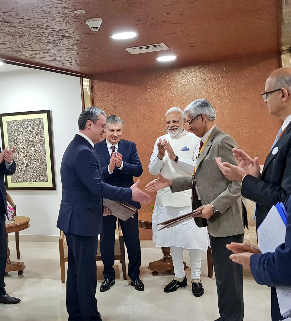 Long-term Uranium Ore Concentrate supply pact for India's energy requirements signed in presence of PM Modi, Uzbek President in Gujarat