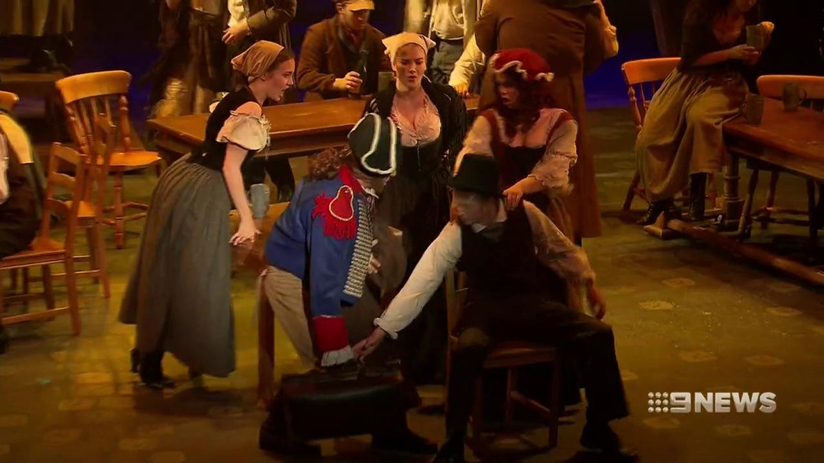 Les Miserables has been wowing audiences around the globe for decades and now it's back in Melbourne! @AllanRaskall #9News