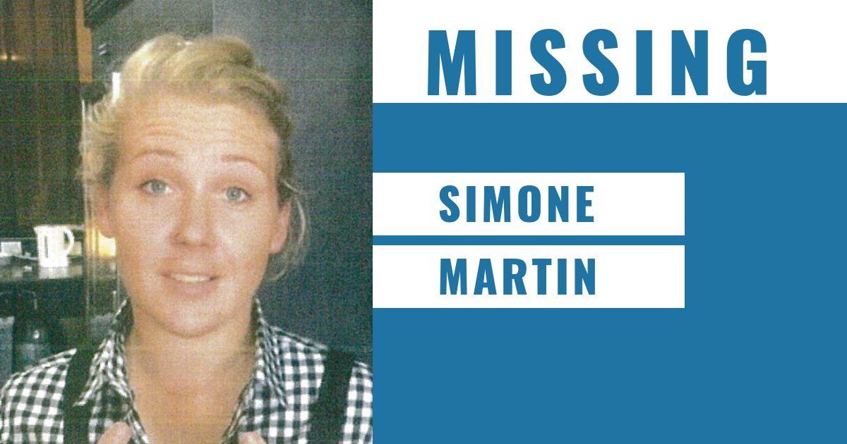 32-year-old Simone Martin last seen at 1pm on 16 Jan at her workplace in Hyde St, Footscray and her disappearance is out of character.  May be driving a black Jeep Compass with registration 1KJ-4CF.  📞Footscray Police Station - (03) 9398 9800  More → https://t.co/uhJXG6jTbS