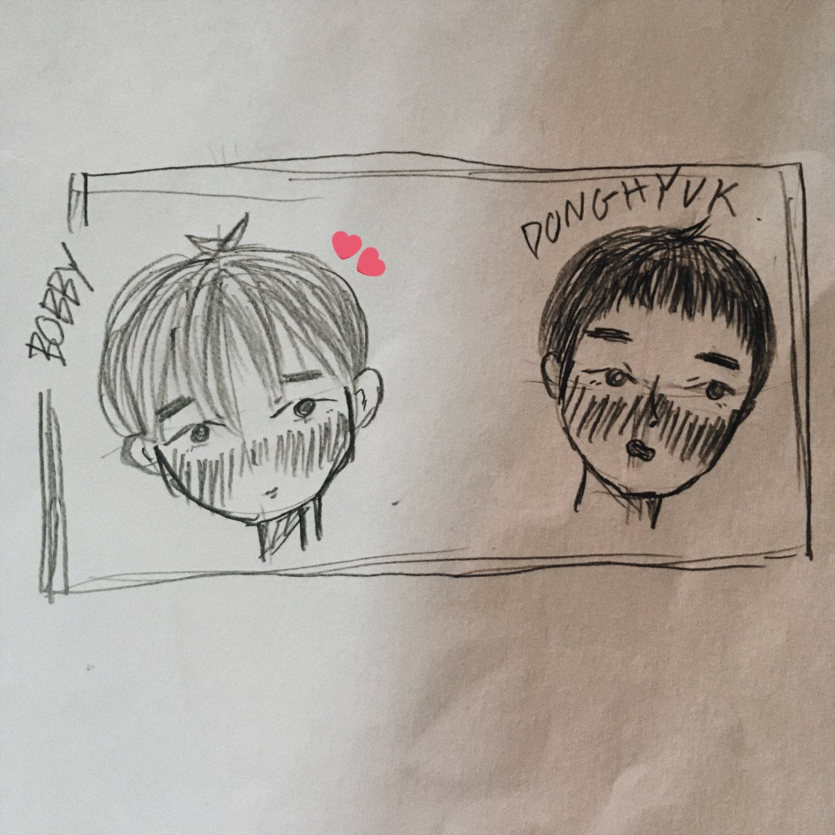 ::first::  bobby x donghyuk   #artbyiindaeyoiisyaa  #fanartikon #iKON<br>http://pic.twitter.com/cVjxm8V0IV