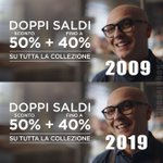Image for the Tweet beginning: La promozione termina domenica! #TenYearChallenge