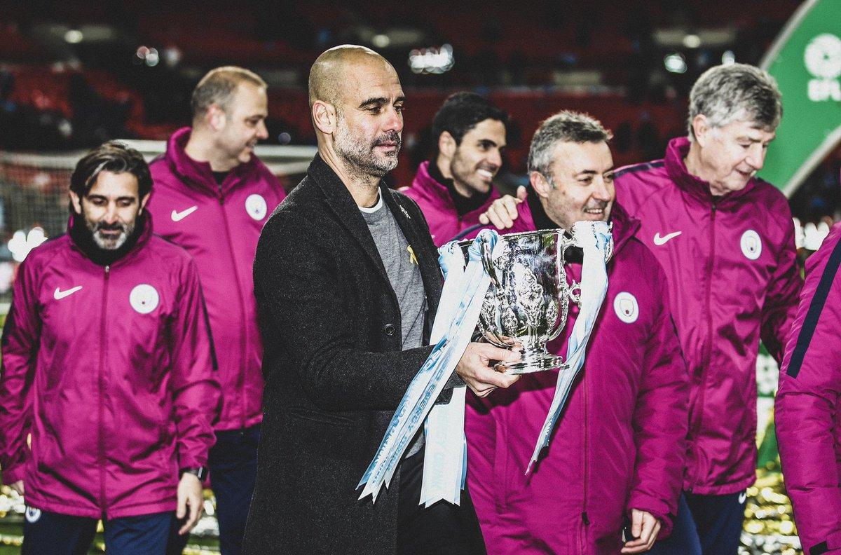 🎉 Happy 48th Birthday Pep Guardiola!  🏟 555 Games 🏆 25 Trophies  3 🏆🇪🇸 La Liga 3 🏆🇪🇸 Super Cup 2 🏆🇪🇸 Copa del Rey  3 🏆🇩🇪 Bundesliga 2 🏆🇩🇪 DFB-Pokal  1 🏆🏴 Premier League 1 🏆🏴 League Cup  3 🏆🌎 Club World Cup 3 🏆🇪🇺 Super Cup 2 🏆🇪🇺 UCL  👏 Best In The World.