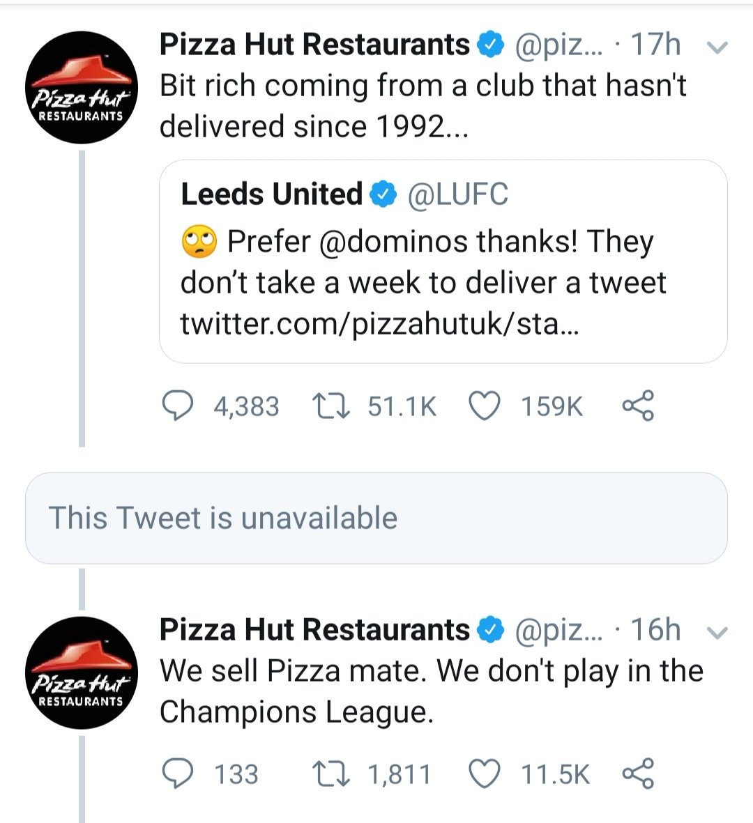 Pizza Hut Restaurants On Twitter We Sell Pizza Mate We