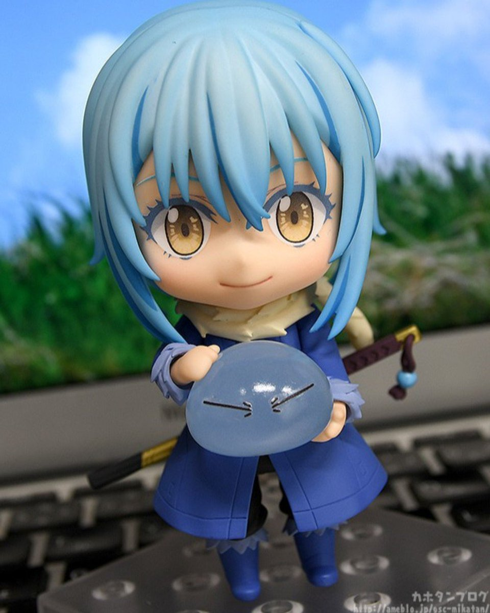 """Kahotan takes a look at Nendoroid Rimuru from """"That Time I Got Reincarnated as a Slime!"""" Rimuru is currently available for preorder! Find out more in the blog below!  http://mikatan.goodsmile.info/en/2019/01/18/nendoroid-rimuru-that-time-i-got-reincarnated-as-a-slime/…  #tensura #rimuru #nendoroid #goodsmile #goodsmilecompany"""