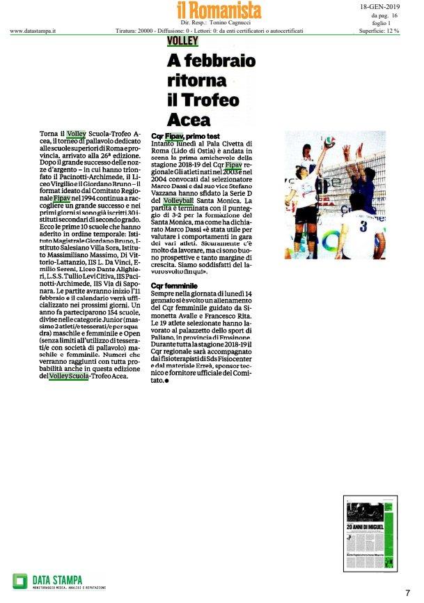 La #rassegnastampa di oggi!  🗞️Tutte le news sul mondo del #volley  👉 https://t.co/8c4wz33Wat   #18gennaio