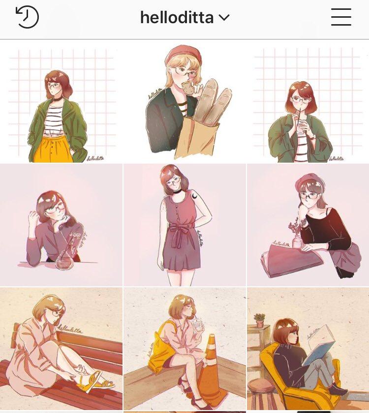 Current feed on instagram. Instagram.com/helloditta