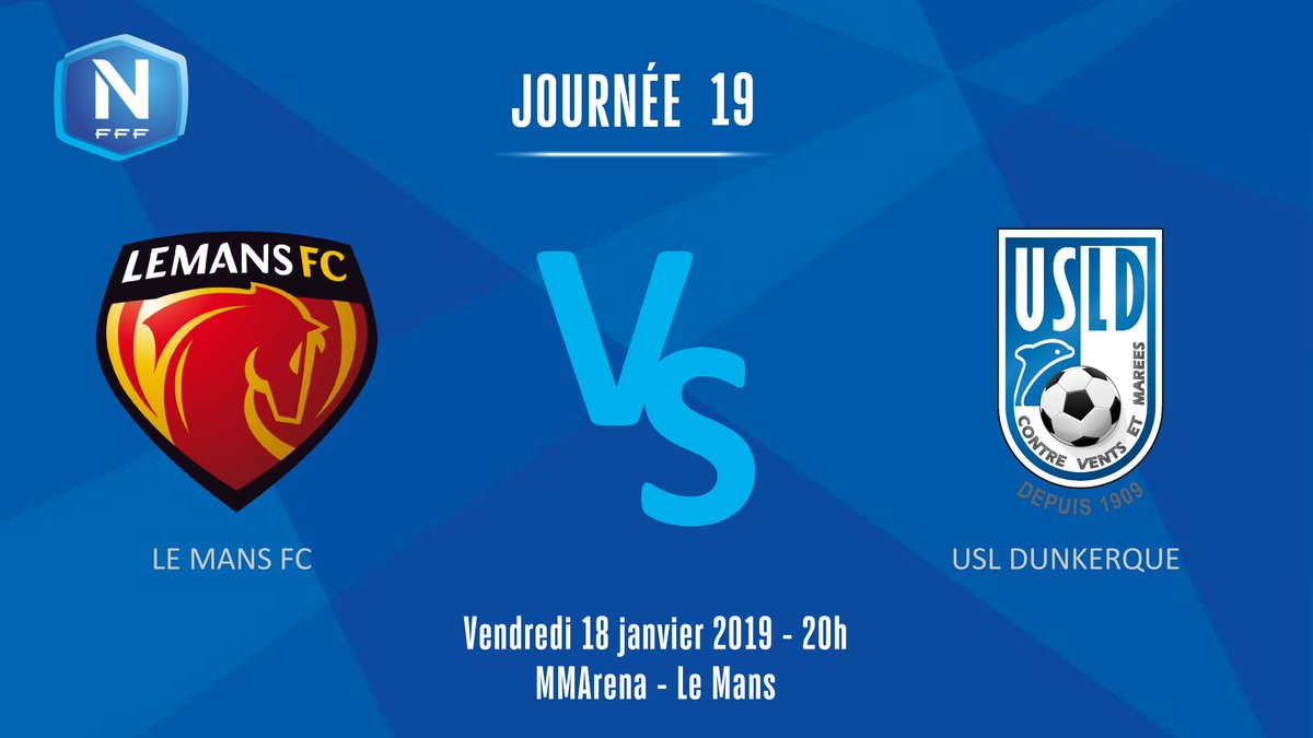 LE MANS FC Officiel's photo on #NationalFFF