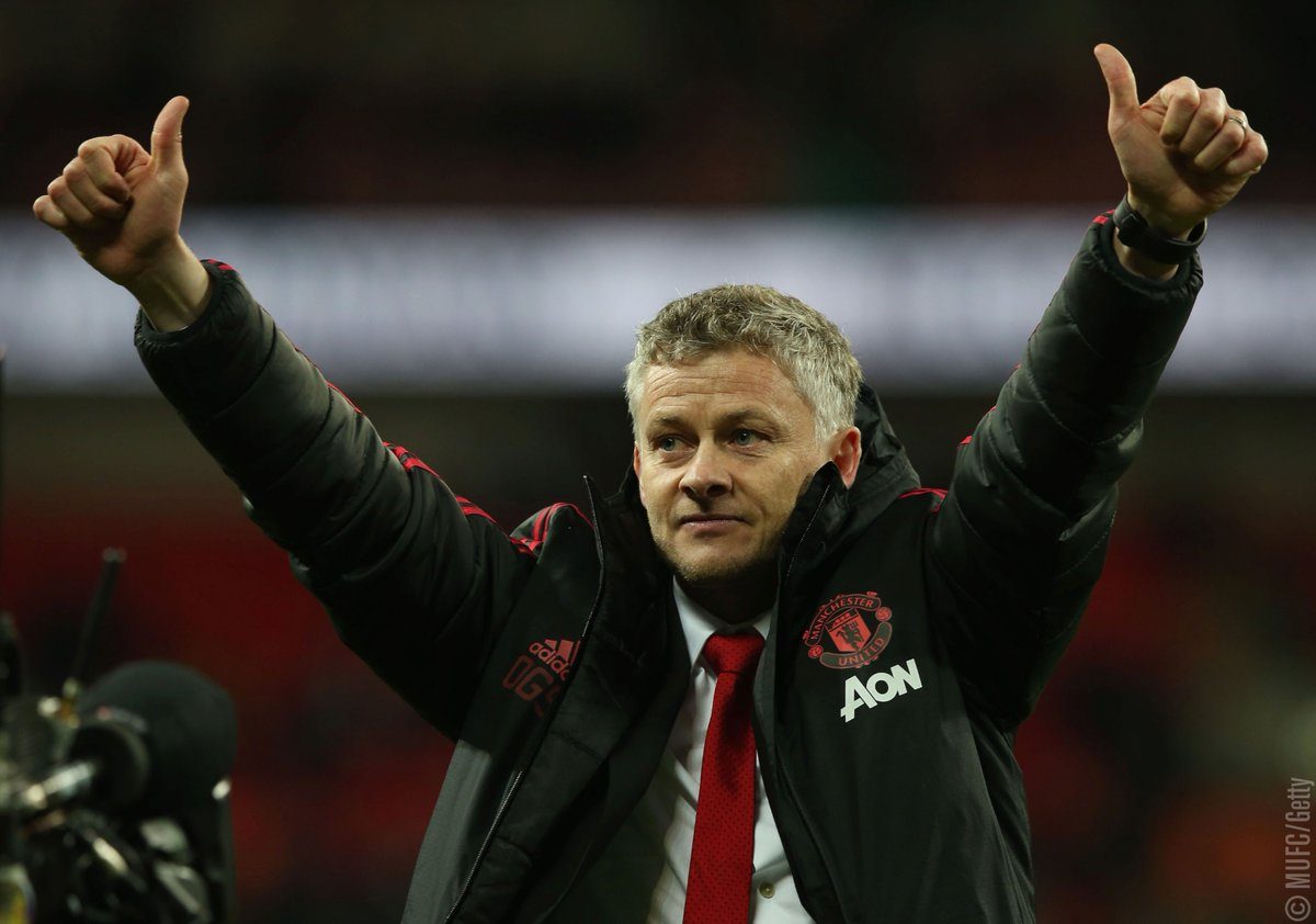 'You go into every single game at Manchester United, as a player or a manager, thinking you're going to win.' says Ole. 'That's just the nature of this club.' #MUFC