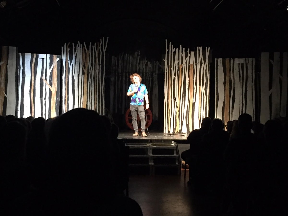 Milton Jones graces the cornerHOUSE stage in the third @OTBcomedy night of the year already. Next comedy is on 7 February and is one of the monthly series of new material nights in the studio. Al Murray returns to the main stage in April.