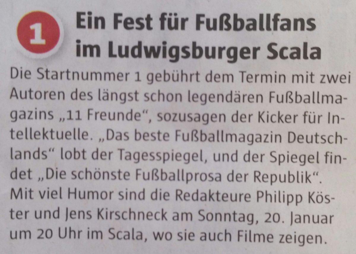 Hoher Besuch in #Ludwigsburg ! @philippkoester @11Freunde_de @11Freunde_Red