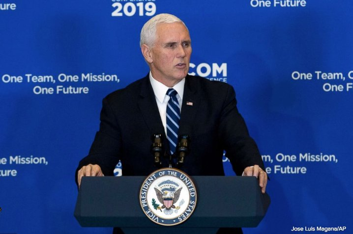 North Korea has still not taken 'concrete steps' to dismantle its nuclear weapons program, Vice President Mike Pence says  https://t.co/VFNsGio5Kg