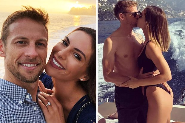 #F1 legend Jenson Button and model Brittny Ward announce first BABY https://t.co/IaCmRREKsP