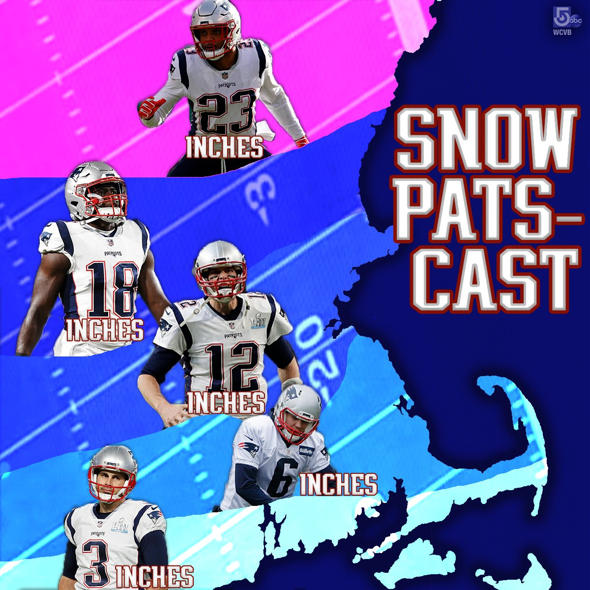We're looking forward to two things this weekend... so we thought: Why not combine them? #snow #forecast #patriots #patriotsnationn#mawxathttps://t.co/VvUxU9fJFHion