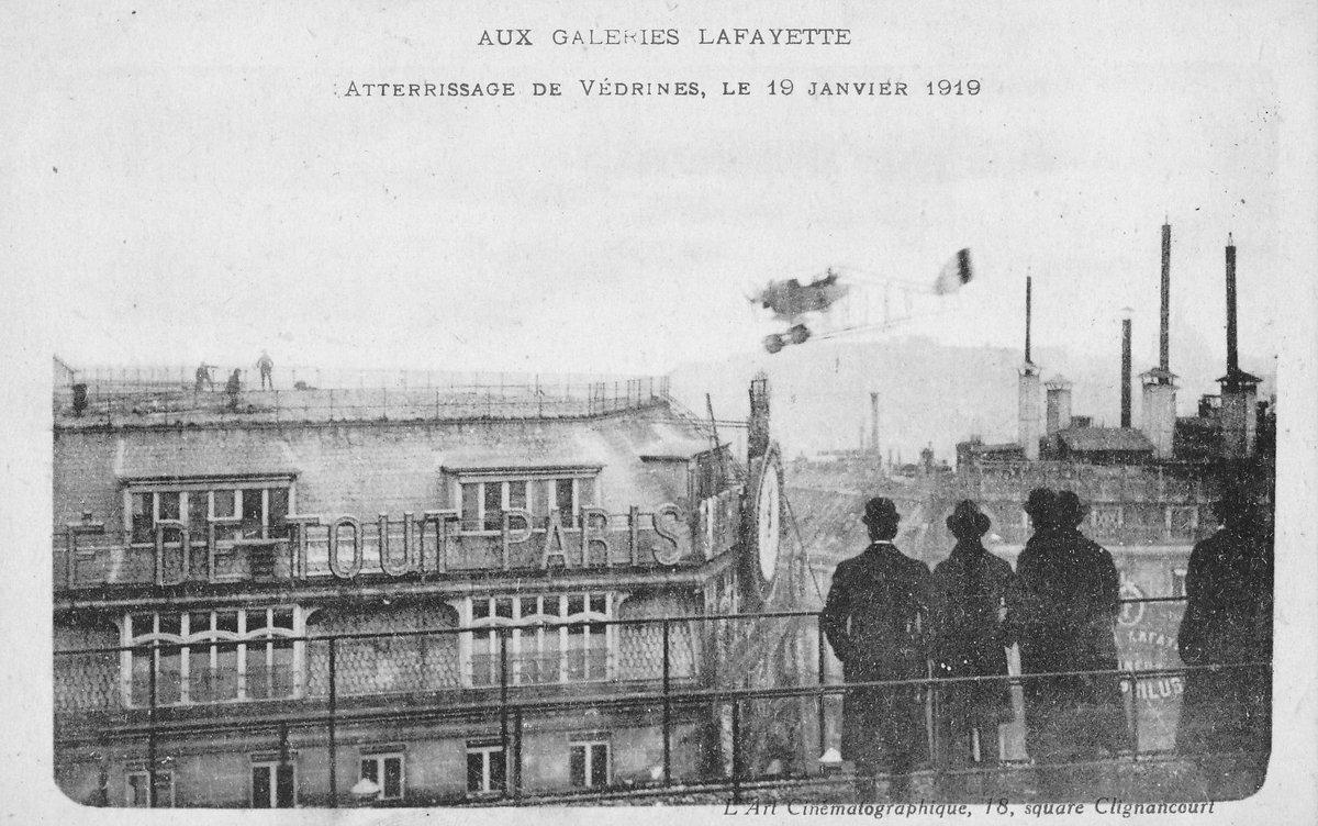 ... leur toit, en plein cœur de  Paris. Aujourd hui marque le centenaire de  cet exploit qui fait date dans l histoire de l  aviation française ... 9b2c78a50e5